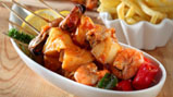 Seafood barbekyu